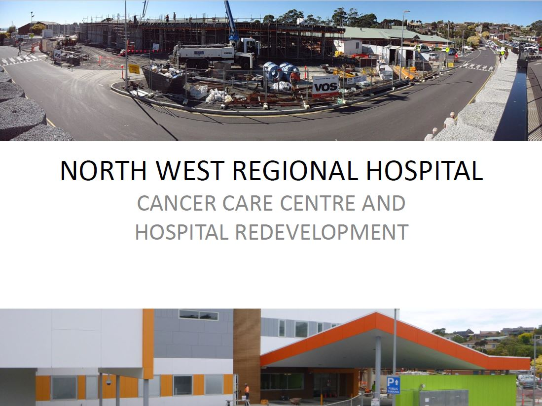 NECA Award for North West Regional Hospital Project