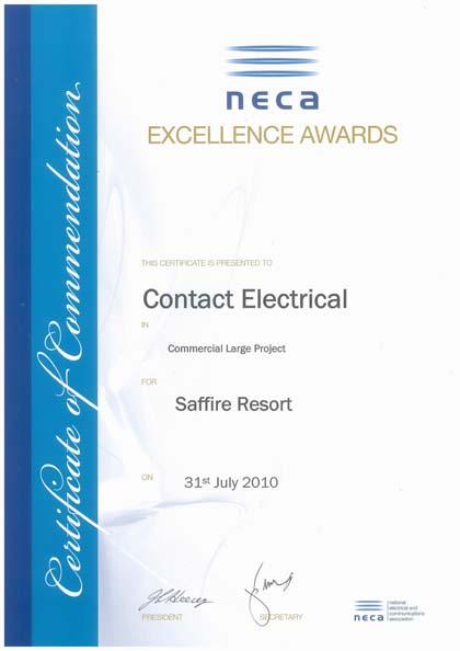 NECA Award