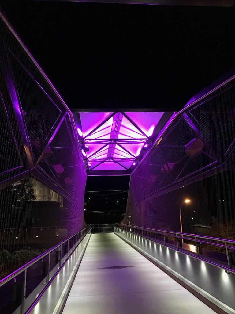 Brooker Highway Bridge Lighting